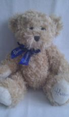 Adorable Big 'Harrods' Collectable Foot Stamped Plush Bear